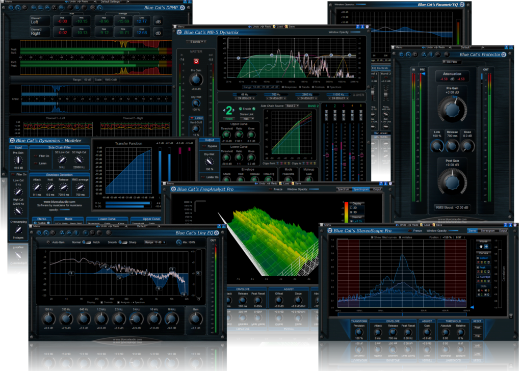 These are some of the plugin that are used in the mastering process. We often master recordings in our Recording studio.