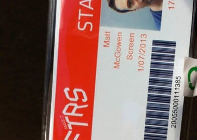 AFTRS staff card